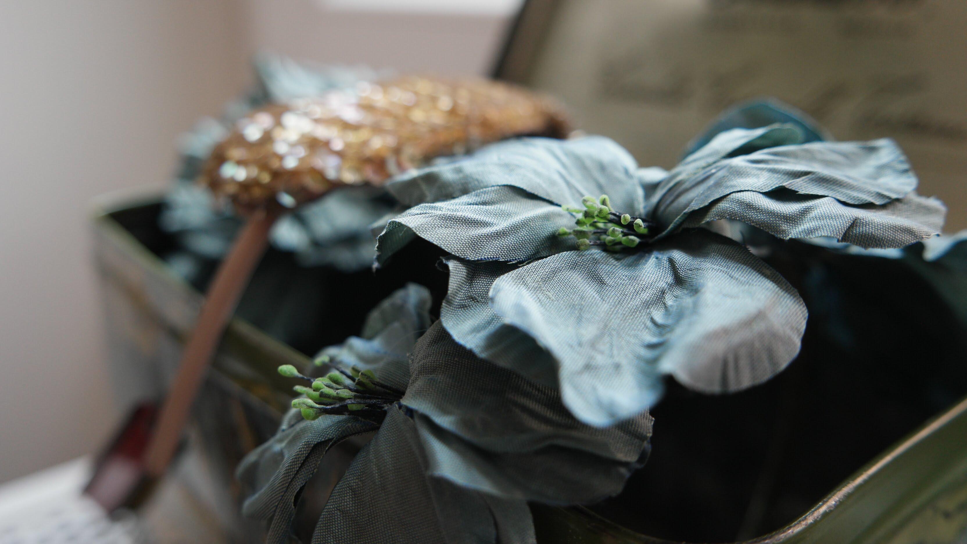 fiori in tessuto modisteria a udine
