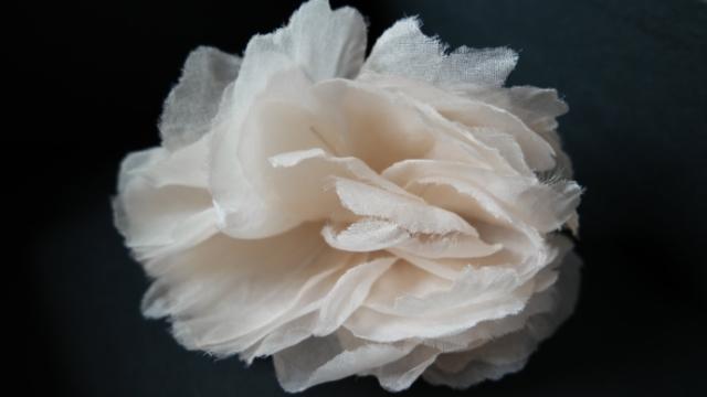 fiore in seta sposa cerimonia