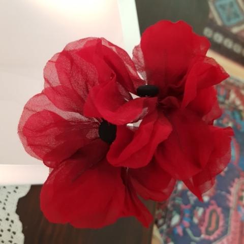 fiori per capelli ballerina tango