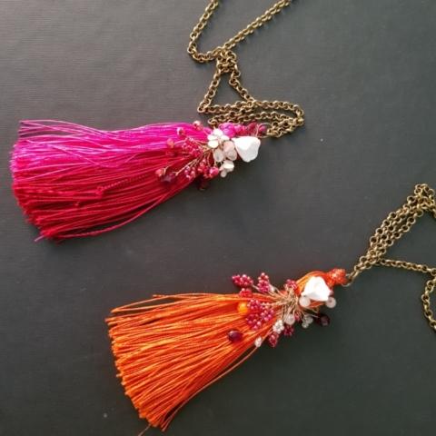 collana pendente fanè bijoux vintage