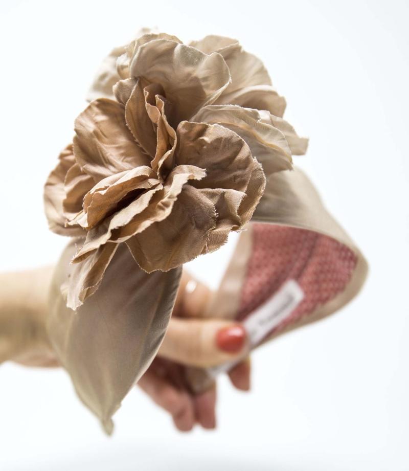 cerchietto capelli con fiori