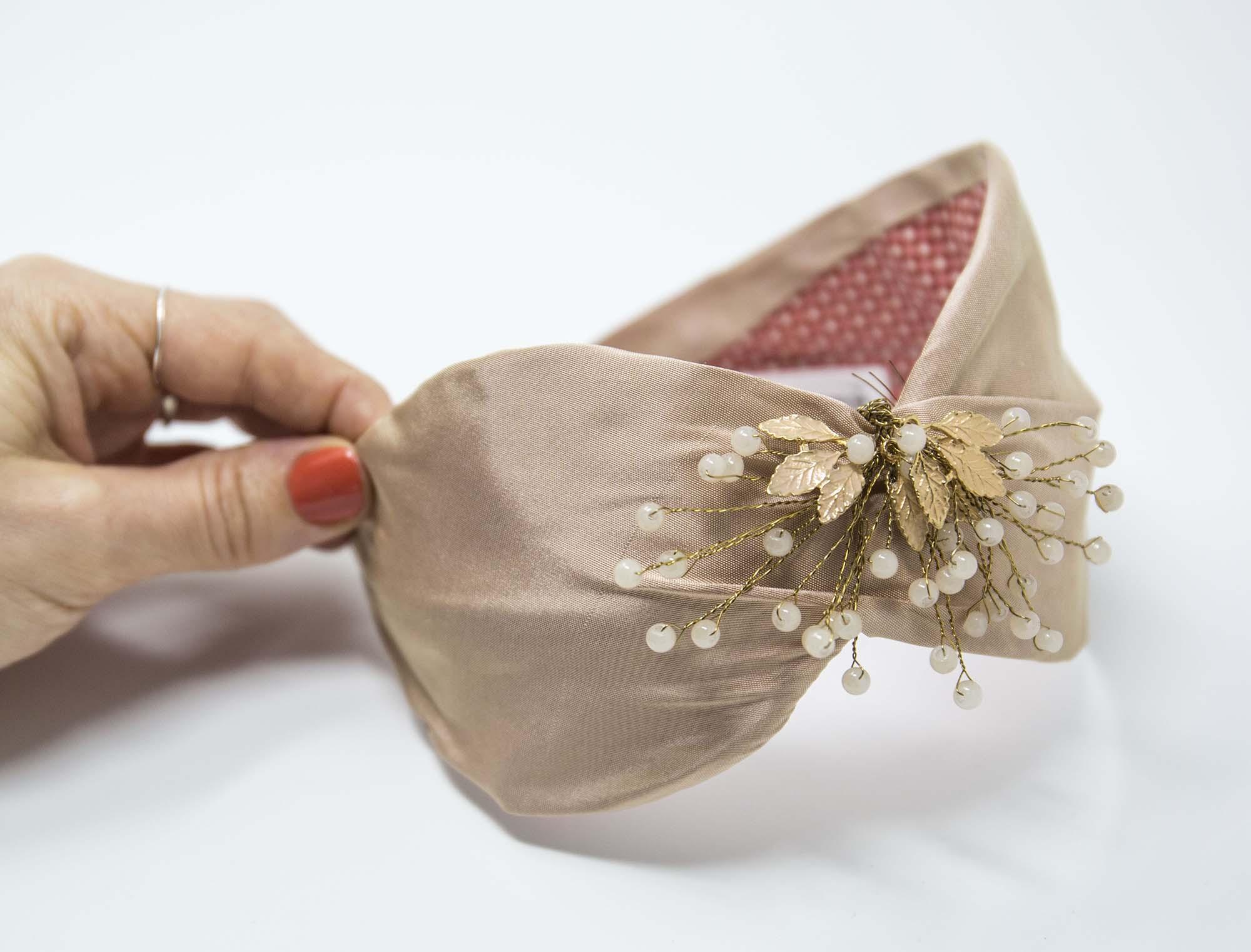 cerchietto gioiello fatto a mano udine