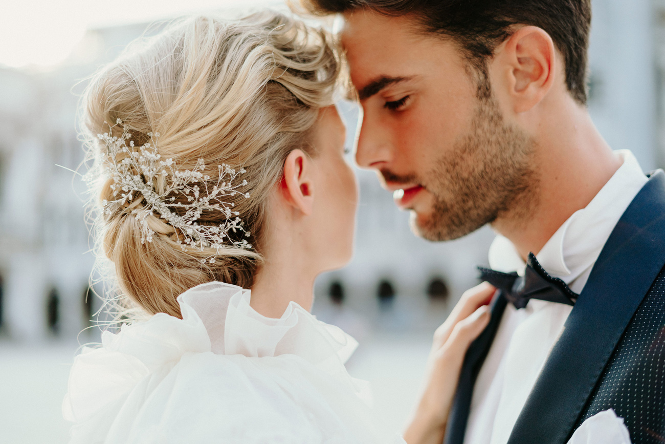 Pettine per capelli sposa