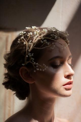 Cerchietto Bijoux Dandelion per sposa