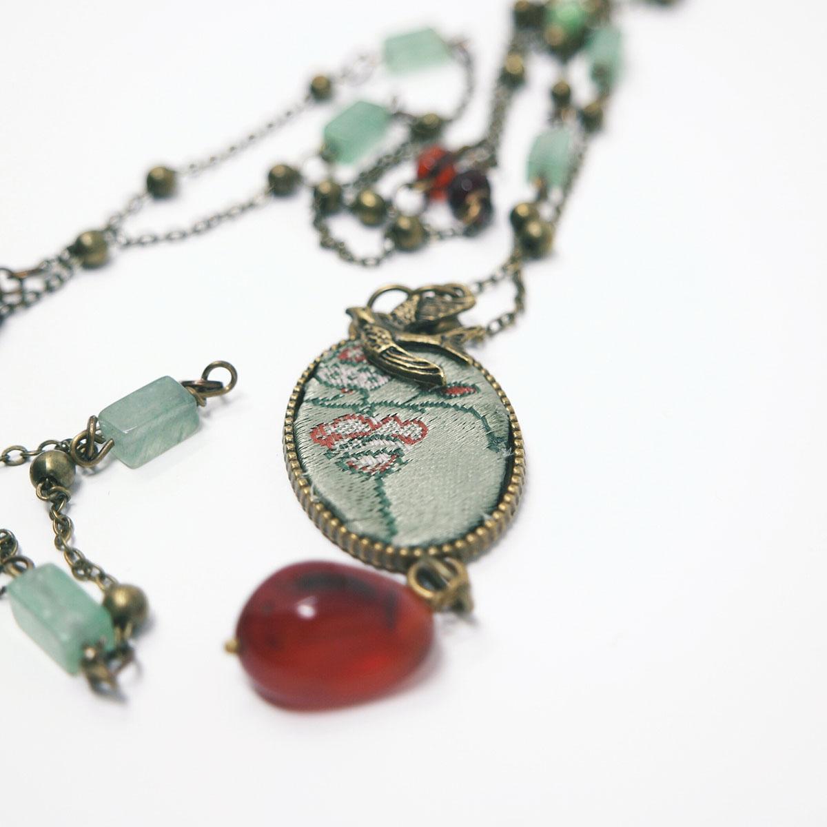 bijoux perle vetro vintage handmade