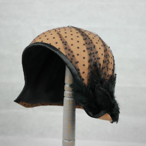 cappello anni 20 fatto a mano personalizzato