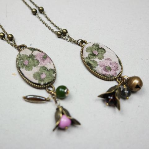 collana pendente bijoux fatto a mano vintage style