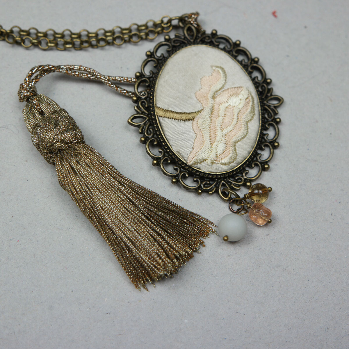 collana pendente fanè bijoux retrò