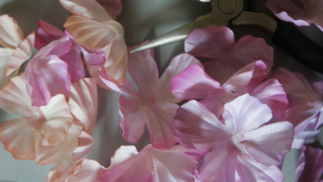 fiori alta moda chiffon