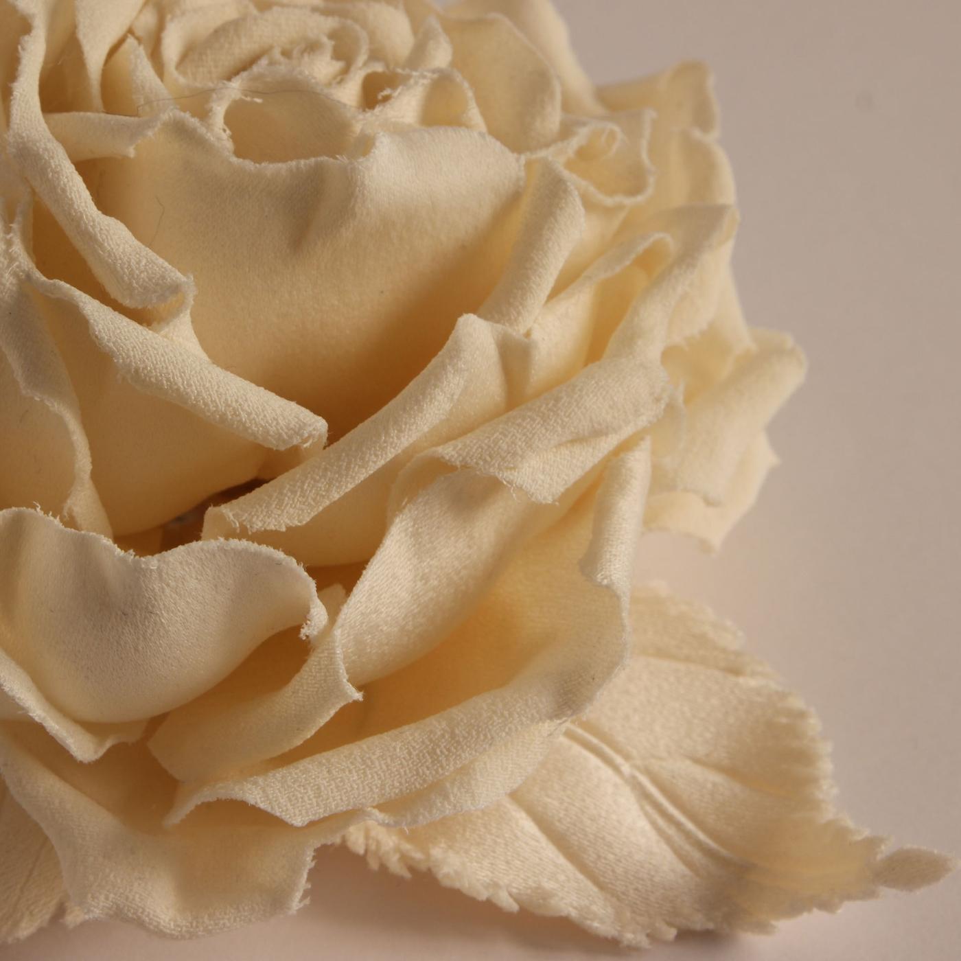 fiori in stoffa cerimonia