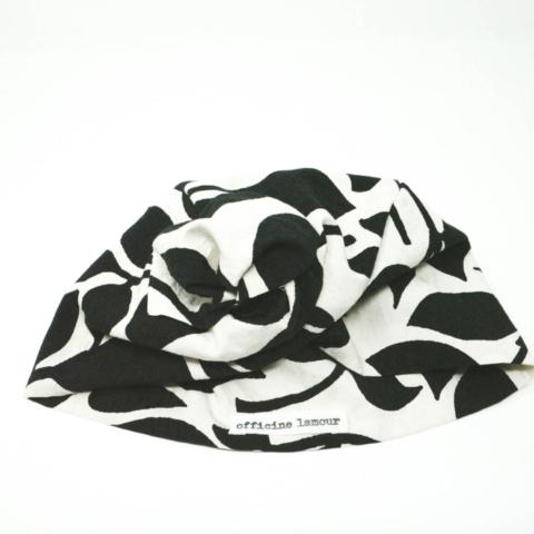 turbante bianco e nero anni 30