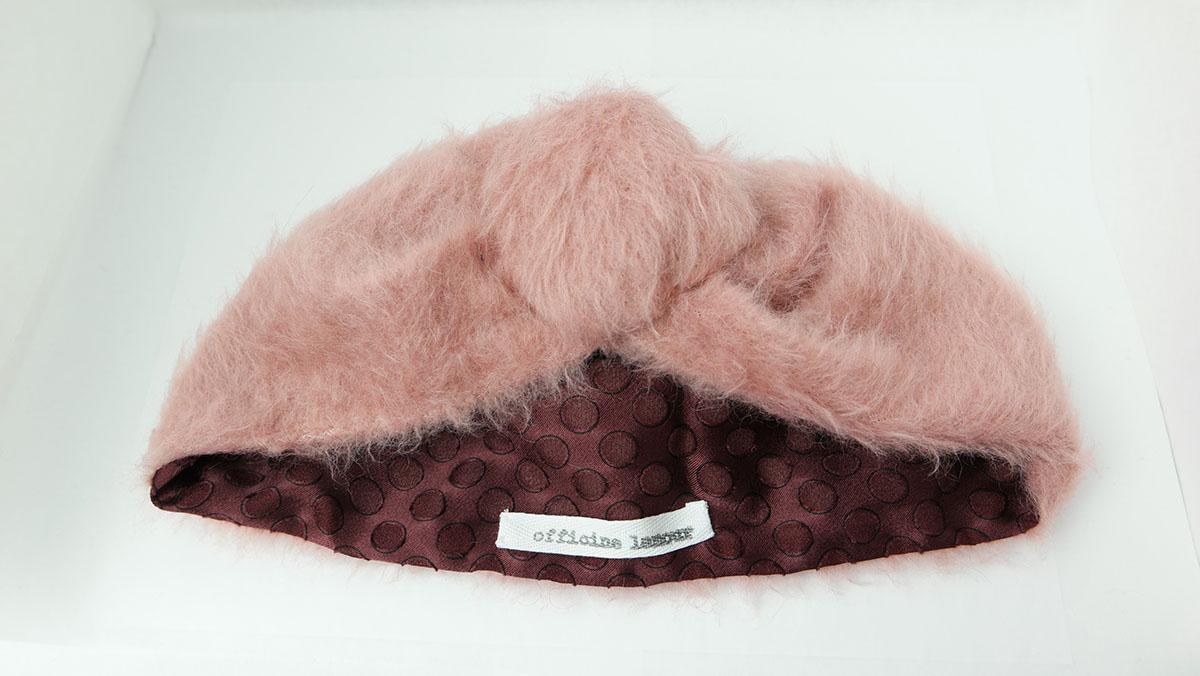 turbante lana fatto a mano officinelamour