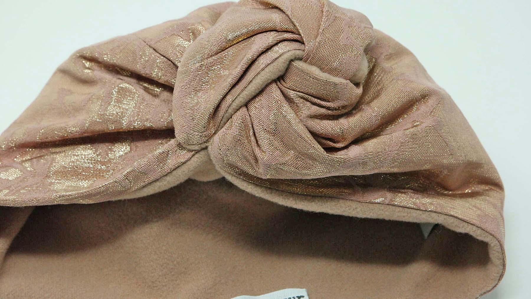turbante elegante in lana