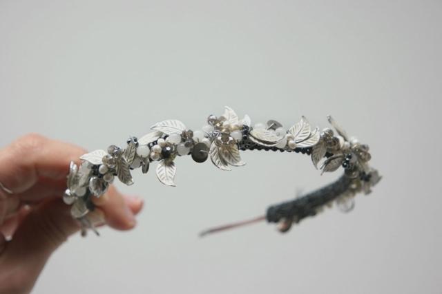 cerchietto bijoux per sposa