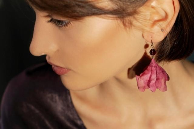 orecchini asimmetrici modisteria udine